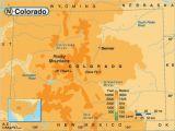Map Of Colorado Rockies Rocky Mountain Elevation Map 29 Cool Colorado Springs Elevation Map