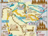 Map Of Colorado Rockies Trail Ridge Road Scenic byway Map Colorado Vacation Directory