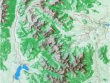Map Of Colorado Rocky Mountains Raised Relief Map Of Rocky Mountain National Park Colorado to Do
