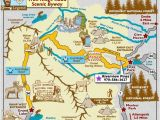 Map Of Colorado Rocky Mountains Trail Ridge Road Scenic byway Map Colorado Vacation Directory