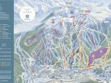Map Of Colorado Ski areas Copper Mountain Resort Trail Map Onthesnow