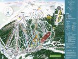 Map Of Colorado Ski areas Copper Winter Trail Map