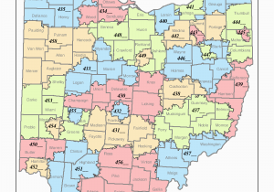Map Of Columbus Ohio Zip Codes Ohio 3 Digit Zip Code areas State Library Of Ohio Digital Collection