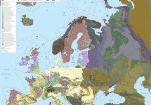 Map Of Continental Europe File Continental European Union Geological Map Fr Jpg