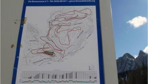 Map Of Cortina Italy Ski Resort Cortina D Ampezzo Skiing Cortina D Ampezzo