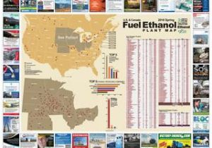Map Of Coshocton Ohio Spring 2018 U S and Canada Fuel Ethanol Plant Map by Bbi