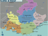 Map Of Cote D Azur France Provence Alpes Ca Te D Azur Wikitravel