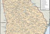 Map Of Counties In Georgia with Cities State and County Maps Of Georgia