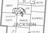 Map Of Counties In Ohio File Map Of Jackson County Ohio with Municipal and township Labels