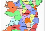 Map Of County Kildare Ireland Map Of Ireland Ireland Map Showing All 32 Counties Ireland Of