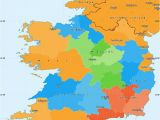 Map Of County Wicklow Ireland Political Simple Map Of Ireland