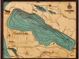Map Of Crystal Lake Michigan 109 Best 3d Nautical Wood Maps Images On Pinterest topographic Map