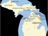 Map Of Crystal Lake Michigan List Of Lakes Of Michigan Revolvy