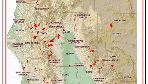 Map Of Current Fires In northern California Map California Map Current California Wildfires California 2019 Map