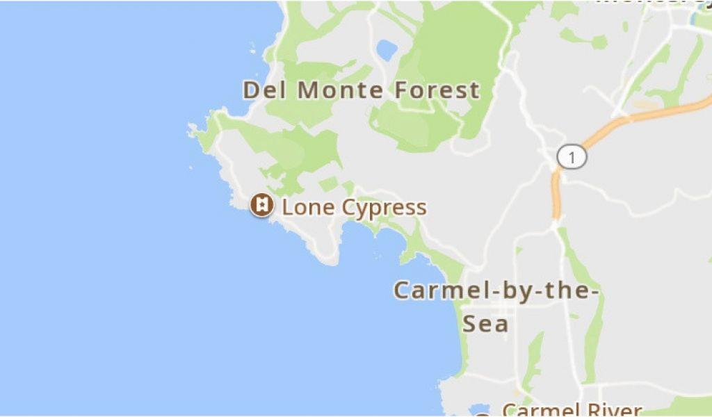Map Of Cypress California Pebble Beach 2019 Best Of Pebble Beach Ca