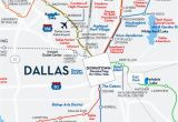 Map Of Dallas Texas and Surrounding areas Greater Dallas area Map