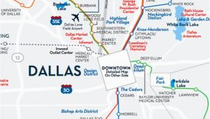 Map Of Dallas Texas Neighborhoods Greater Dallas area Map