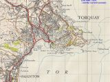 Map Of Dartmoor England torquay Geological Field Guide by Ian West