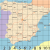 Map Of Denia area Spain Large Map Of Spain S Cities and Regions