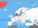 Map Of Denmark and Europe Denmark Physical Wall Map Denmark On Map Of World