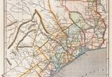 Map Of Denton Texas Republic Of Texas by Sidney E Morse 1844 This is A Cerographic