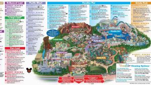 Map Of Disney California Adventure Park 10 Awesome Printable Map Disneyland California Elegant Disney