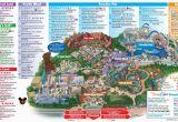 Map Of Disneyland and California Adventure Disneyland Park Map In California Map Of Disneyland