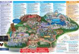 Map Of Disneyland California Adventure Park Map Of Disney California Adventure Park Reference California