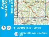 Map Of Dordogne France Ign 2235 Argentat Sur Dordogne Frankreich Wanderkarte 1 25 000