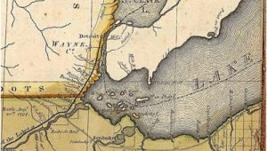 Map Of Downriver Michigan Historical Program to Showcase Gibraltar S 180 Years Of Existence