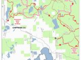 Map Of Drummond island Michigan Drummond island West Cycle Conservation Club Of Michigan