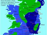 Map Of Dublin California the Map Makes A Strong Distinction Between Irish and Anglo French