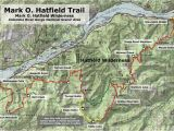 Map Of Eagle Point oregon Starvation Creek Falls Wyeast Blog
