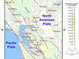 Map Of Earthquakes In California Hayward Fault Zone Wikipedia