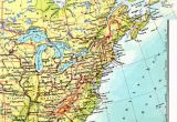 Map Of East Coast Usa and Canada Printable Road Maps East Coast Usa and Travel Information