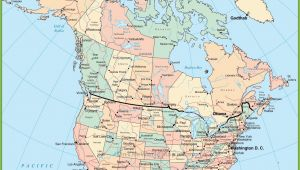 Map Of East Coast Usa and Canada Usa and Canada Map