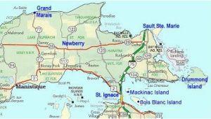 Map Of East Michigan Map Of Eastern Upper Peninsula Of Michigan Trips In 2019 Upper