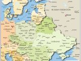 Map Of Easter Europe Map Of Russia and Eastern Europe