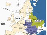Map Of Eastern and Western Europe Eastern Europe