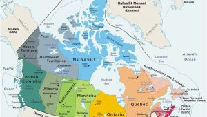 Map Of Eastern Canada Provinces Plan Your Trip with these 20 Maps Of Canada