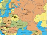 Map Of Eastern Europe and Russia Map Of Russia and Eastern Europe