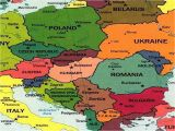 Map Of Eastern Europe with Capitals 25 Categorical Map Of Eastern Europe and Capitals