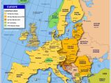 Map Of Eastern Europe with Major Cities Map Of Europe Member States Of the Eu Nations Online Project