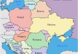 Map Of Eastern Europe with Major Cities Maps Of Eastern European Countries