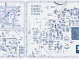 Map Of Eastern Michigan University Campus Campus Maps University Of Michigan Online Visitor S Guide
