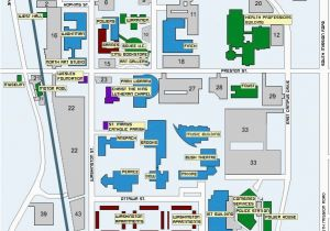u of d mercy campus map Eastern Michigan University Campus Map Maping Resources