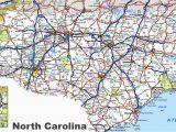 Map Of Eastern north Carolina north Carolina Road Map
