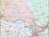 Map Of Eastern Ontario Canada Map Of Ontario with Cities and towns