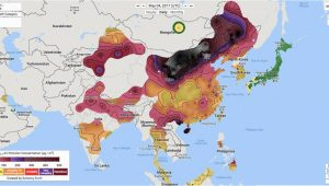 Map Of Elizabeth Colorado Beijing Air Pollution is More Unhealthy Than Cigarettes Inverse