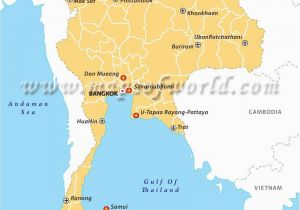 Map Of England Airports Airports In Thailand Maps Thailand Airport Thailand